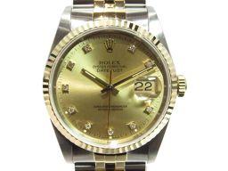 ROLEX ロレックス デイトジャスト 腕時計 ウォッチ 16233G シルバー×ゴールド ステンレススチール(