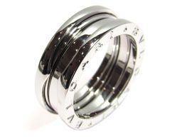 BVLGARI ブルガリ B-zero1 Sサイズ リング 指輪  JEWELRY シルバー K18WG(750)