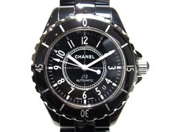 CHANEL シャネル J12  腕時計 ウォッチ H0685 ブラック セラミック 【中古】【ランクA】 メンズ