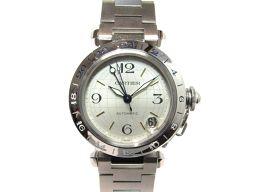 Cartier カルティエ パシャC メリディアン 腕時計 ウォッチ W31029M7 シルバー ステンレススチー