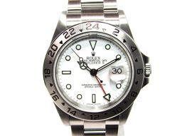 ROLEX ロレックス エクスプローラー2 時計 ウォッチ 16570 シルバー×ホワイト ステンレススチール(S