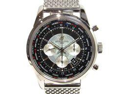 BREITLING ブライトリング トランスオーシャン ユニタイム 腕時計 ウォッチ A050B620CA ブラッ