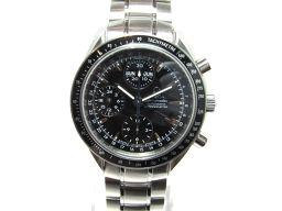 OMEGA オメガ スピードマスター トリプルカレンダー 腕時計 ウォッチ 3220.50.00 ブラック×シルバ