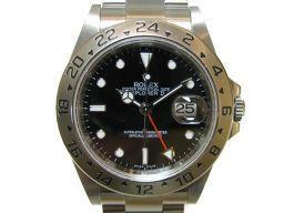 ROLEX ロレックス エクスプローラー2 腕時計 ウォッチ 16570 ブラック×シルバー ステンレススチール(