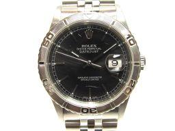 ROLEX ロレックス サンダーバード 腕時計 ウオッチ 16264 シルバー×ブラック K18WG(750)ホワ