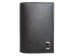 dunhill ダンヒル 名刺入れ カードケース FP4700E ブラック レザー 【新品】 メンズ