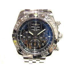 BREITLING ブライトリング クロノマット 腕時計 ウォッチ AB011012/BD89 シルバー×ネイビー