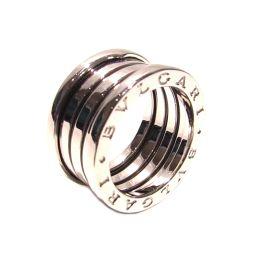 BVLGARI ブルガリ B-zero1 リング 指輪 Mサイズ シルバー K18WG(750) ホワイトゴールド