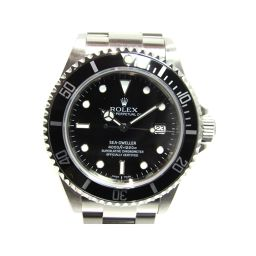 ROLEX ロレックス シードゥエラー 腕時計 ウォッチ 16600 シルバーxブラック ステンレススチール(SS