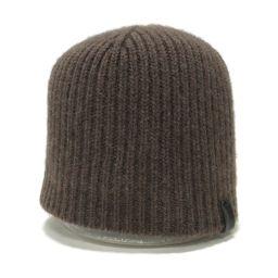 GIORGIO ARMANI ジョルジオ・アルマーニ ニット帽 ブラウン 【中古】【ランクB】 メンズ