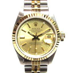 ROLEX ロレックス デイトジャスト 腕時計 ウォッチ 69173 シルバーxゴールド ステンレススチール(SS