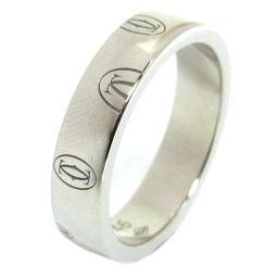 Cartier カルティエ ハッピーバースデーリング 指輪 B4050946 シルバー K18WG(750) ホワ