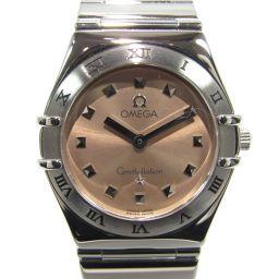 OMEGA オメガ コンステレーション マイチョイス 腕時計 1571.61 シルバーxピンク ステンレススチール
