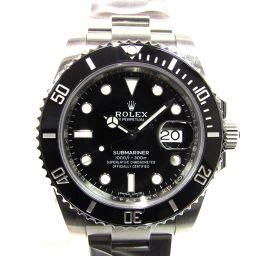 ROLEX ロレックス サブマリーナ 腕時計 ウォッチ 116610LN シルバーxブラック ステンレススチール(