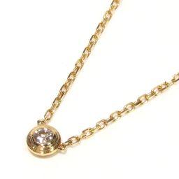 Cartier カルティエ ディアマンレジェ ネックレス XS ダイヤモンド B7224517 クリアーxゴールド