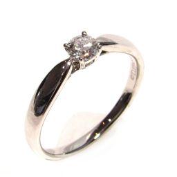 TIFFANY&CO ティファニー ダイヤモンド ハーモニーエンゲージメント リング 指輪 クリアーxシルバー P