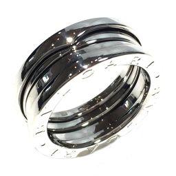 BVLGARI ブルガリ B-zero1 リング Sサイズ 指輪 シルバー K18WG(750) ホワイトゴールド