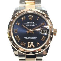 ROLEX ロレックス デイトジャスト 腕時計 ウォッチ 178341 シルバーxゴールド ステンレススチール(S