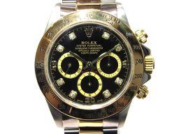 ROLEX ロレックス デイトナ  時計 ウオッチ 16523G ゴールド×シルバー×ブラック ステンレススチー