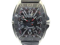 FRANCK MULLER フランク・ミュラー コンキスタドール 時計 ウォッチ 9900SCDTGPG ブラック