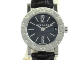 BVLGARI ブルガリ ブルガリ ブルガリ 腕時計 ウォッチ BB23BSLD ブラック ステンレススチール(S
