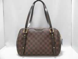 LOUIS VUITTON ルイヴィトン リヴィントンGM トートバッグ N41158 ダミエ ダミエ 【中古】【