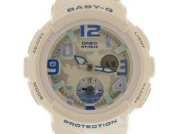 CASIO カシオ Baby-Gビーチトラベラー 腕時計 ウォッチ BGA1907BDR ホワイト ステンレススチ