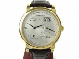 LANGE & SOHNE ランゲ アンド ゾーネ ランゲ1 裏スケルトン 腕時計 ウォッチ 101.022 ブラ