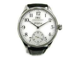 IWC インターナショナル・ウォッチ・カンパニー ポルトギーゼ F・A・ジョーンズ 裏スケ 腕時計 ウォッチ IW