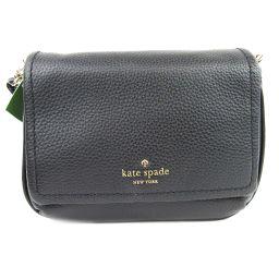 kate spade ケイトスペード ショルダーバッグ PXRU7533001 ブラック レザー 【新品】 レディ
