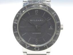 BVLGARI ブルガリ ブルガリ ブルガリ 時計 ウォッチ BB33SS ブラック ステンレススチール(SS)