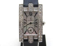 HARRY WINSTON ハリーウィンストン アヴェニュー ベゼルダイヤ 腕時計 ウォッチ 310LQW シルバ
