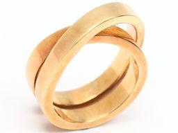 Cartier カルティエ パリリング 指輪 ゴールド K18YG(750) イエローゴールド 【中古】【ランクA