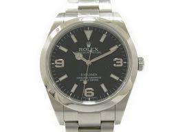ROLEX ロレックス エクスプローラー1 新ジョイント 腕時計 ウォッチ 214270 ブラック ステンレススチ