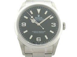 ROLEX ロレックス エクスプローラー1 新ジョイント 腕時計 ウォッチ 114270 ブラック ステンレススチ