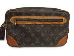 LOUIS VUITTON Louis Vuitton Marlado Lagonne GM Second Bag M51825 Monogram Monogue