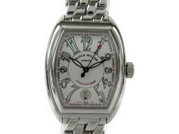 FRANCK MULLER フランク・ミュラー コンキスタドール 腕時計 ウォッチ 8001SC シルバー ステン