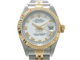 ROLEX ロレックス デイトジャスト 腕時計 ウォッチ 79173 ホワイト K18YG(750)イエローゴール