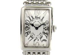 FRANCK MULLER フランク・ミュラー ロングアイランド ウォッチ 腕時計 レディース 902QZ シルバ