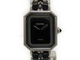 CHANEL シャネル プルミエールM 腕時計 ウォッチ H0001 ブラック×シルバー ステンレススチール(SS