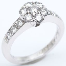 Van Cleef & Arpels ヴァンクリーフ&アーペル フルーレットダイヤモンド リング 指輪 クリアー