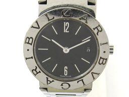 BVLGARI ブルガリ ブルガリ ブルガリ ウォッチ 腕時計 レディース BB26SSD ブラック ステンレスス