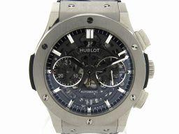 HUBLOT ウブロ クラシックフュージョン クロノグラフ 裏スケ 腕時計 ウォッチ 525NX0170LR ブラ