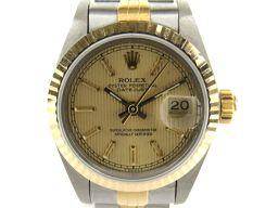 ROLEX ロレックス デイトジャスト ウォッチ 腕時計 レディース 69173 ゴールド ステンレススチール(S