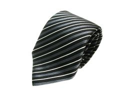ARMANI アルマーニ ネクタイ ブラック シルク 【新品】 メンズ