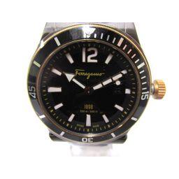 Salvatore Ferragamo サルヴァトーレ・フェラガモ 時計 FF3320016 ブラック ステンレス