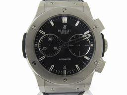 HUBLOT ウブロ クラシックフュージョンクロノ 裏スケルトン 腕時計 ウォッチ 521.NX.1170.LR