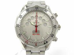 OMEGA オメガ シーマスター プロフェッショナル アプネア ウォッチ 腕時計 メンズ 2595.30 シルバー