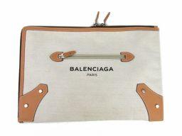 BALENCIAGA バレンシアガ クラッチバッグ セカンドバッグ 419994-9260 ナチュラル x ベージ