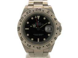 ROLEX ロレックス エクスプローラー2 腕時計 ウォッチ 16570T V番 ブラック×シルバー ステンレスス